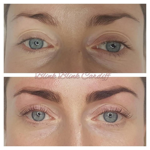 lash lift_eyebrow tint and shape